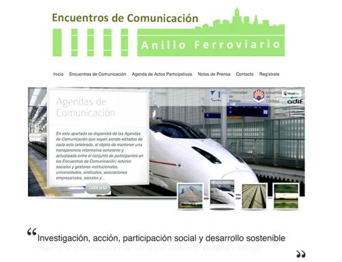Programa de Encuentros de Comunicación sobre el Anillo Ferroviario de Ensayo y Experimentación de Bobadilla (Antequera)
