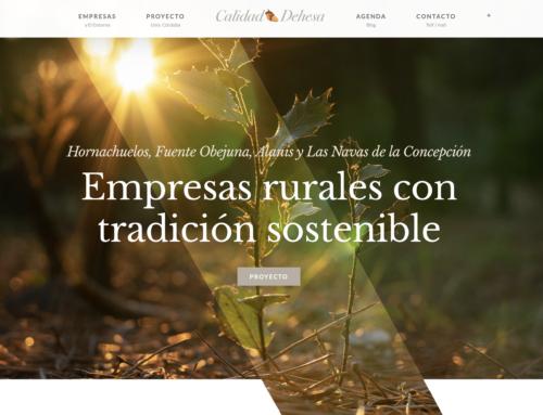 Proyecto Calidad Dehesa. Empresas de Sierra Morena y Revalorización de ECO-Recursos